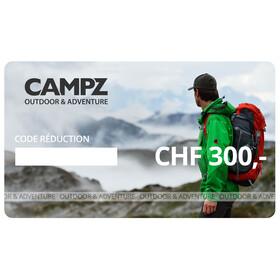 CAMPZ chéque cadeau - CHF 300